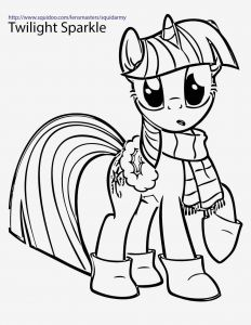 My Little Pony Coloring Pages to Print - My Little Pony Coloring Pages to Print Luxury S My Little Pony Coloring Pages Printable Mlp 7g