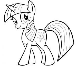 My Little Pony Coloring Pages to Print - My Little Pony Twilight Sparkle Coloring Pages 18d