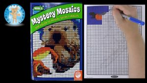Mystery Of History Coloring Pages - Mindware Mystery Mosaics Book 5 Coloring Book Review Family toy Report 7e