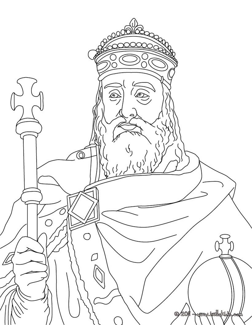 mystery of history coloring pages Collection-Charlemagne Coloring page CC Cycle 2 week 1 lots of other French kings and queens to color 15-p