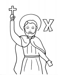 "Mystery Of History Coloring Pages - Francis Xavier On the Words ""francis Xavier"" to the Pdf File 10k"
