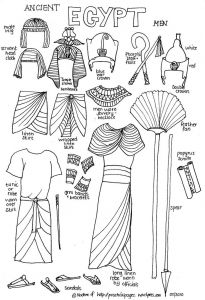 Mystery Of History Coloring Pages - Paper Dolls 20e