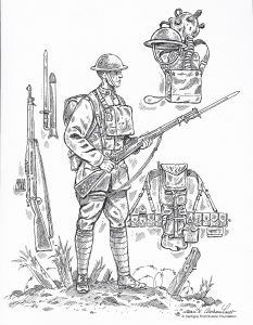 Mystery Of History Coloring Pages - Ww1 Coloring Page From First Division Museum 17e