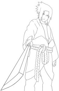 Naruto Coloring Pages - Desenhos Do Sasuke Pesquisa Google Printable Colouring Pages Cartoon Coloring Pages Coloring Stuff 6b