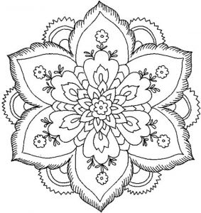 Nature Mandala Coloring Pages - Beautiful Coloring Pages for Adults 11m