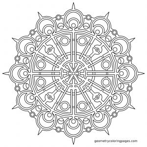 Nature Mandala Coloring Pages - Mandala Coloring Pages Advanced Level Bing 5b