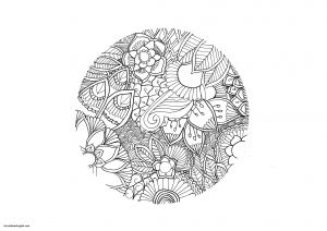 Nature Mandala Coloring Pages - Free Difficult Coloring Pages Awesome Nature From the Gallery Mandalas Artist Chloe Free Difficult Coloring 6h