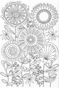 Nature Mandala Coloring Pages - Scandinavian Coloring Book Pg 31 Adult Coloring Pagescoloring Pages Natureflower 2o