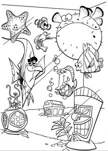 Nemo Coloring Pages - Finding Nemo Turtle Coloring Pages Best Nemo Coloring Pages Awesome Nemo Coloring Pages Nice Finding 5n