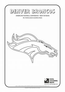 Nfl Helmets Coloring Pages - Denver Broncos Coloring Pages New Denver Broncos Logo Coloring Pages 8 13k