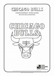 Nfl Helmets Coloring Pages - Cool Coloring Pages Nba Teams Logos Chicago Bulls Logo Coloring Page with… 9d