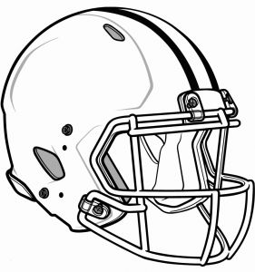Nfl Helmets Coloring Pages - Football Helmets Coloring Pages Elegant Popular Nfl Helmets Coloring Pages Verikira 8p