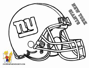 Nfl Helmets Coloring Pages - New orleans Saints Football Coloring Pages Lovely Ny Giants Free Printable Coloring Helmet 1t