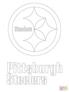 Nfl Mascot Coloring Pages - Steelers Logo Coloring Page Nfl Logos Coloring Pages attractive Charmant Packer Malvorlagen 17o