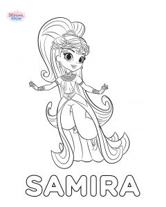 Nickalodeon Coloring Pages - Shimmer Shine Coloring Pages Genial Shimmer and Shine Ausmalbilder 13m