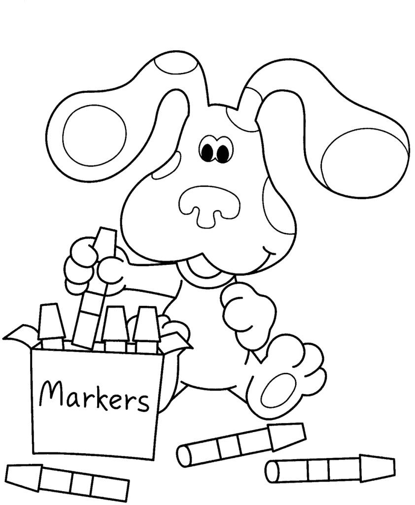 nickjr coloring pages Collection-Nick Jr Coloring Pages 14 9-d