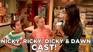 "Nicky Ricky Dicky and Dawn Coloring Pages - Nickelodeon Cast Of ""nicky Ricky Dicky and Dawn"" 2l"