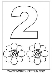 Numbers Coloring Pages Pdf - Free Math Worksheets Number Coloring 3a