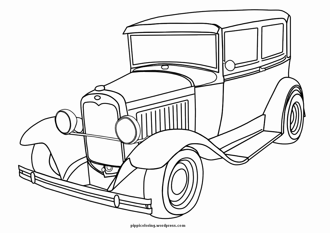 old cars coloring pages Download-Ford F Coloring Page Luxury Old Cars Coloring Pages 17-a