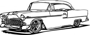 Old Cars Coloring Pages - Vintage Car Coloring Pages Muscle Car Coloring Pages Free Coloring Pages Download 5d