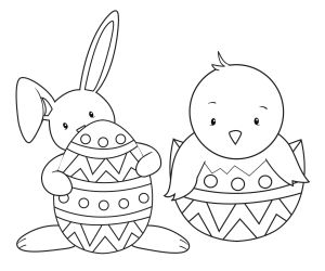 Online Easter Coloring Pages - Coloring Easter Pages to Print Easter Coloring Pages for Kids to Print 15b