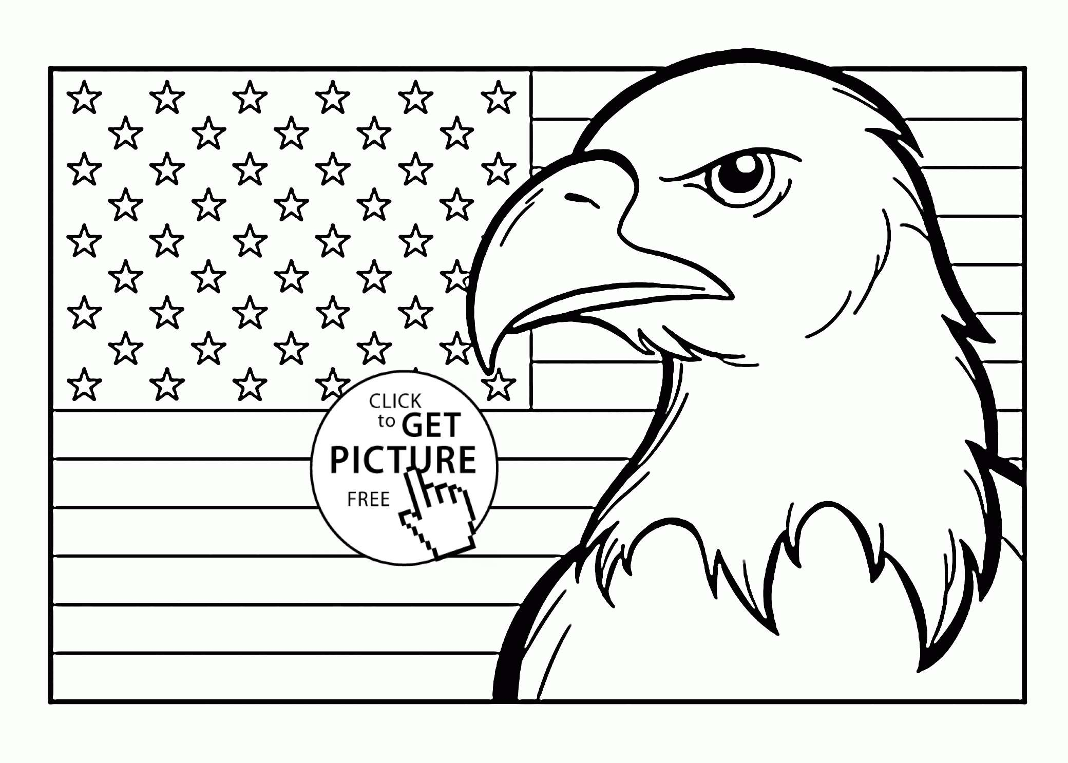 patriotic printable coloring pages Collection-Eagle Printable Coloring Pages Awesome American Flag Coloring Page for First Grade to Print 9-c