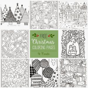 Pen Coloring Pages - Winter Adult Coloring Pages Winter Color Page 14b