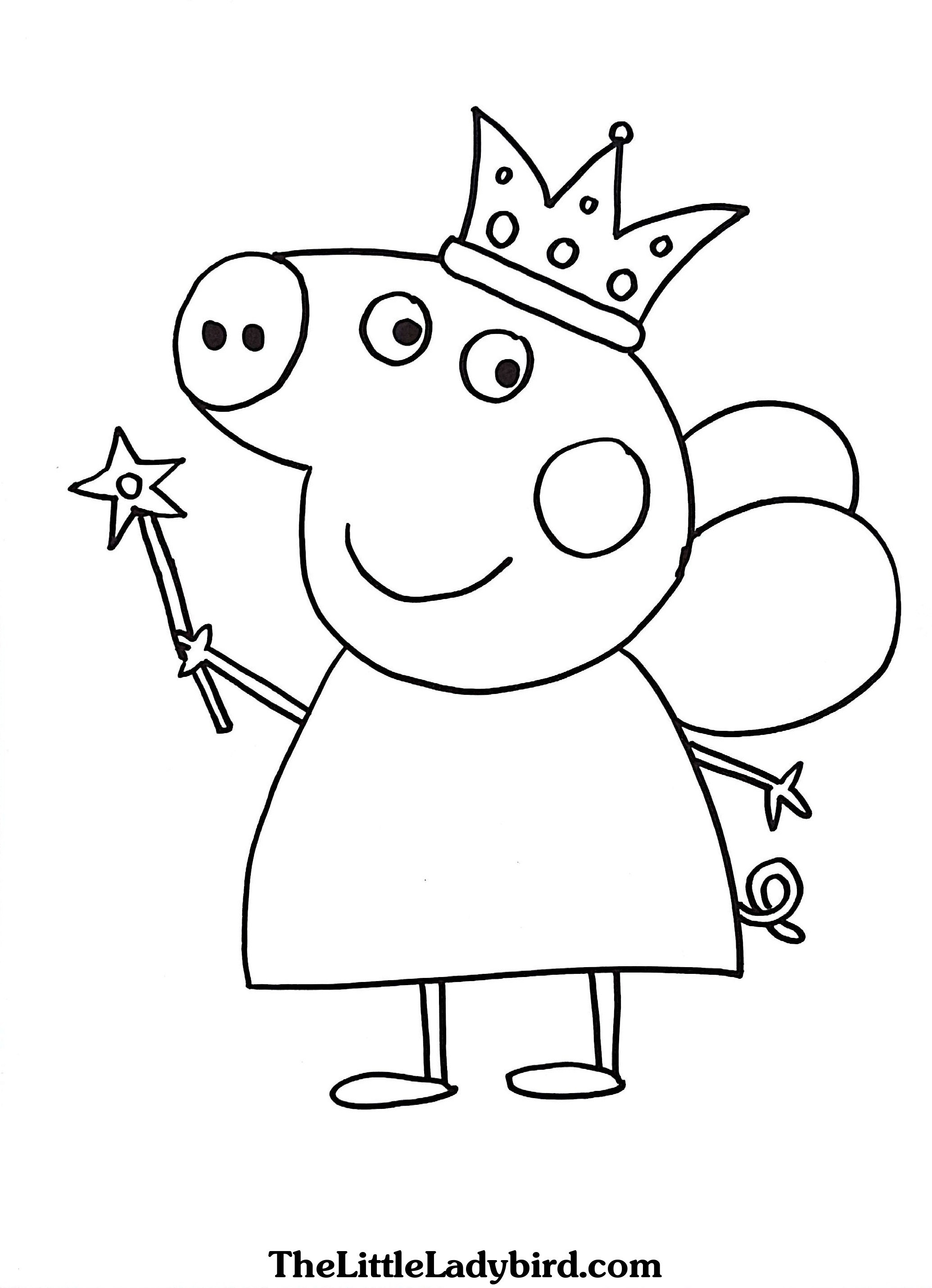 25 Peppa Pig Coloring Pages Online Download Coloring Sheets
