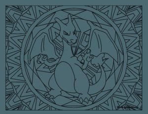 Pokemon Coloring Pages Charizard - Pokemon Coloring Pages Charizard Adult Pokemon Coloring Page Charizard Pokemon Crafts 7h