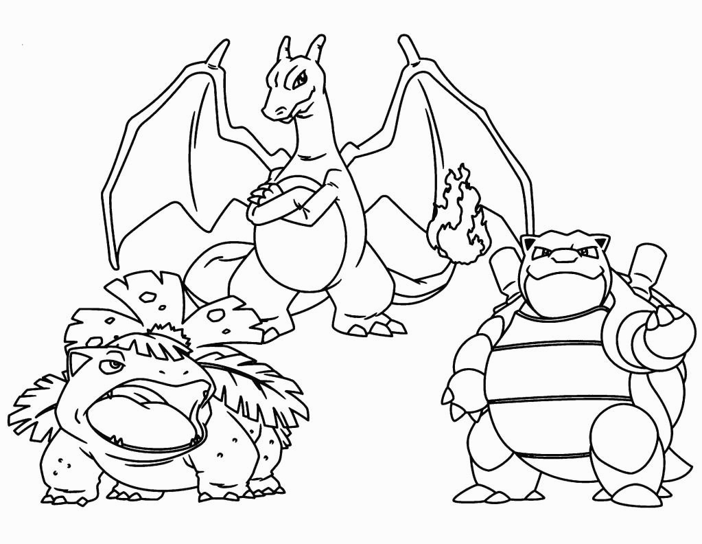 29 Pokemon Coloring Pages Charizard