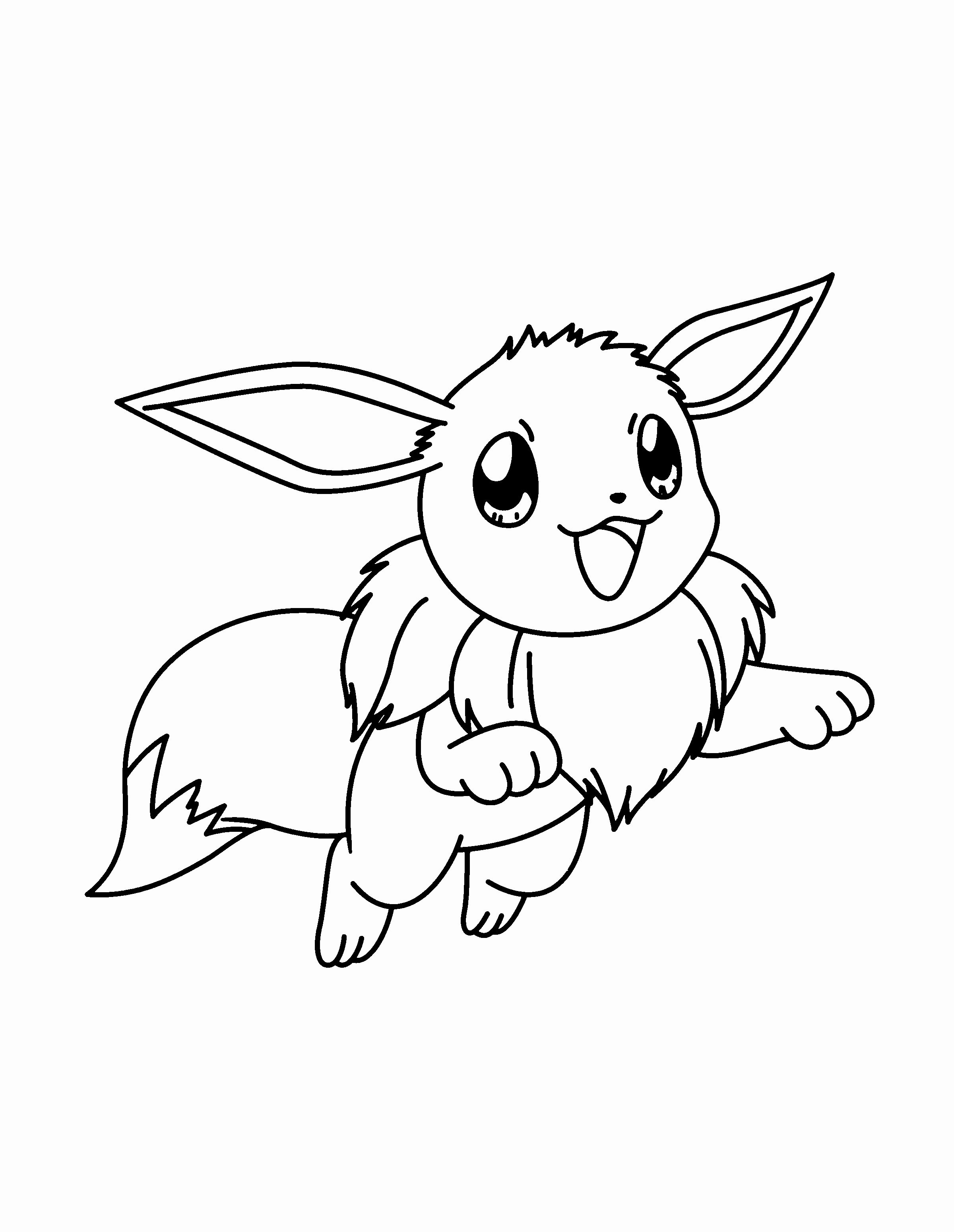 23 Pokemon Eevee Evolutions Coloring Pages Gallery ...