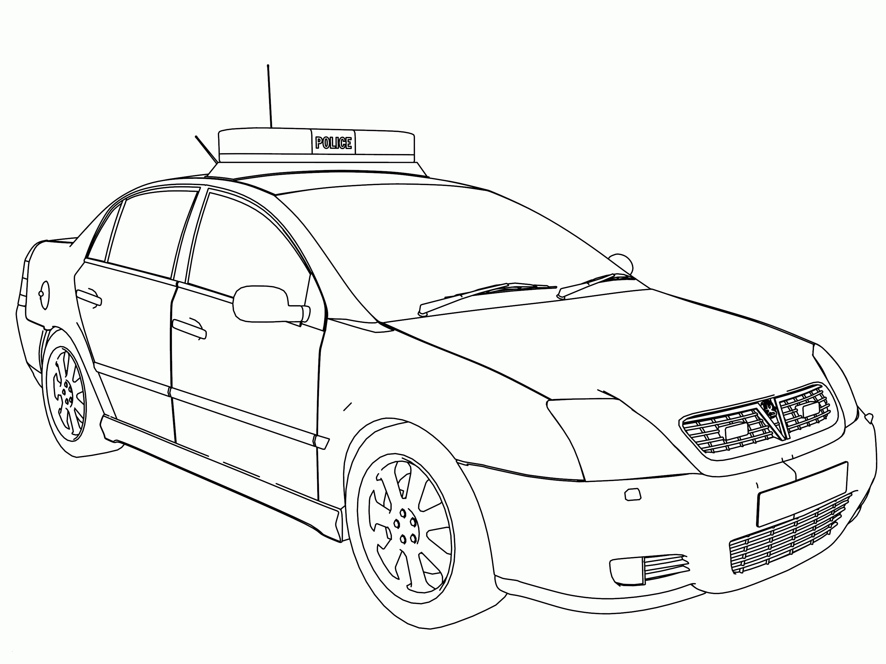 21 Police Car Coloring Pages Download - Coloring Sheets