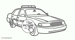 Police Car Coloring Pages to Print - Police Car Coloring Page Cars Coloring Pages for Boys Download 6e