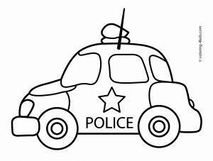 Police Car Coloring Pages to Print - Transportation Coloring Pages for Kids Police Car Coloring Pages to Print Beautiful Police Car 19h