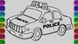Police Car Coloring Pages to Print - Police Car Coloring Pages Collection Police Car Coloring Pages Unique Collection Cars Coloring Book 12 Download Coloring Sheets Detail Name Police Car 12b