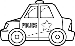 Police Car Coloring Pages to Print - Police Car Coloring Page Police Car Coloring Pages Lovable Police Car Coloring Pages Line 10b
