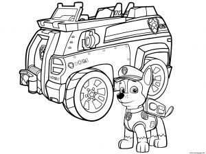 Police Car Coloring Pages to Print - Car Coloring Pages Best Paw Patrol Chase Police Car Coloring Pages Printable 4e