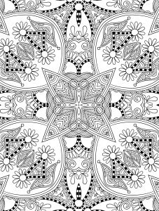 Pretty Mandala Coloring Pages - Beautiful Free Printable Coloring Pages for Adults 2h
