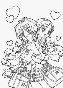 Prinatable Coloring Pages - Cool Anime Coloring Pages Lovely Printable Coloring Pages for Girls Lovely Printable Cds 0d – Fun 3d
