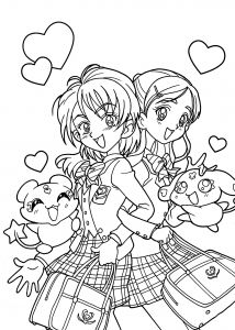 Print Off Coloring Pages - Cute Anime Chibi Girl Coloring Pages Beautiful Printable Coloring Pages for Girls Lovely Printable Cds 0d – Fun 5d