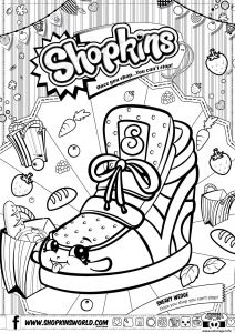 Print Shopkins Coloring Pages - Coloriage Shopkins Sneaky Wedge Dessin   Imprimer Shopkins Coloring Pages Free Printable Shopkins Colouring Pages 11n