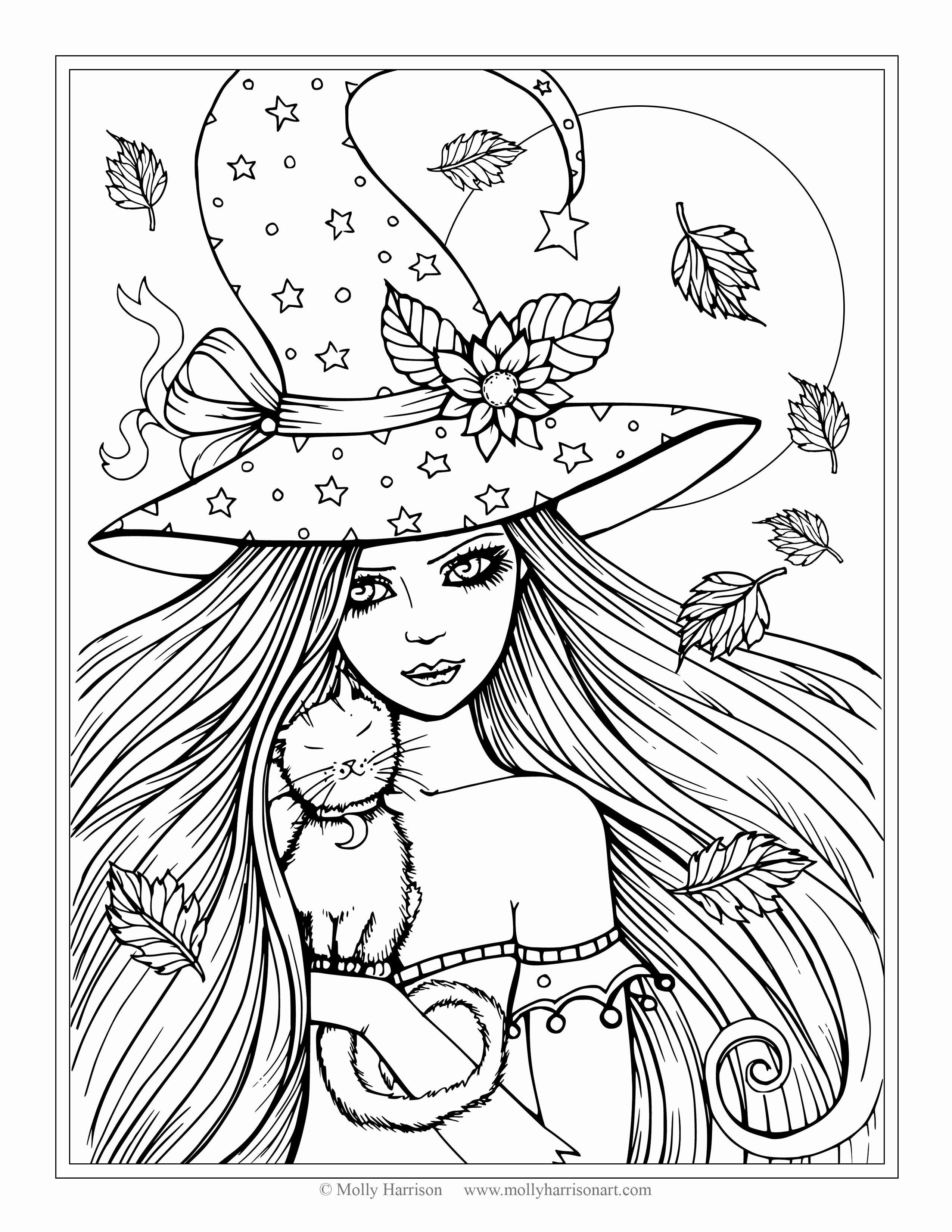 printable anime coloring pages Collection-Girl Coloring Pages for Kids Anime Girl Coloring Pages Printable Download 10-i