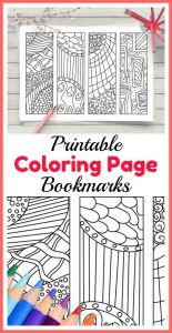 Printable Bookmark Coloring Pages - Printable Zendoodle Coloring Page Bookmarks 4 Zen Doodle Style Abstract Art Diy Bookmarks to Color these Abstract Designs Make A Great Coloring Activity 3b