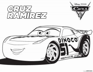 Printable Cars Movie Coloring Pages - Cars Pixar Coloring Pages 15c