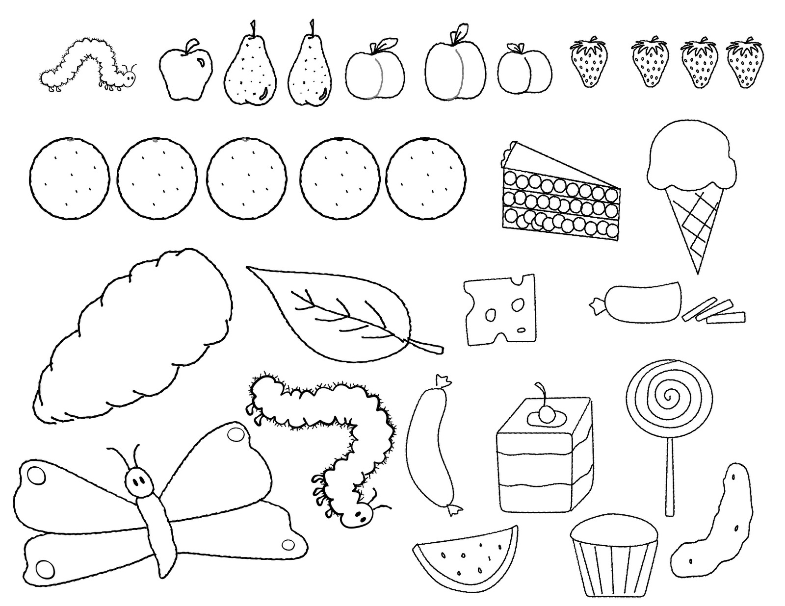 26 Printable Caterpillar Coloring Pages Download Coloring