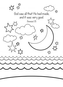 Printable Coloring Pages Creation Story - Coloring Pages God Created the World Creation Coloring Pages Best Unparalleled the Creation Coloring 12a