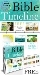 Printable Coloring Pages Creation Story - 200 Full Color Printable Timeline Cards From Bible and 7o