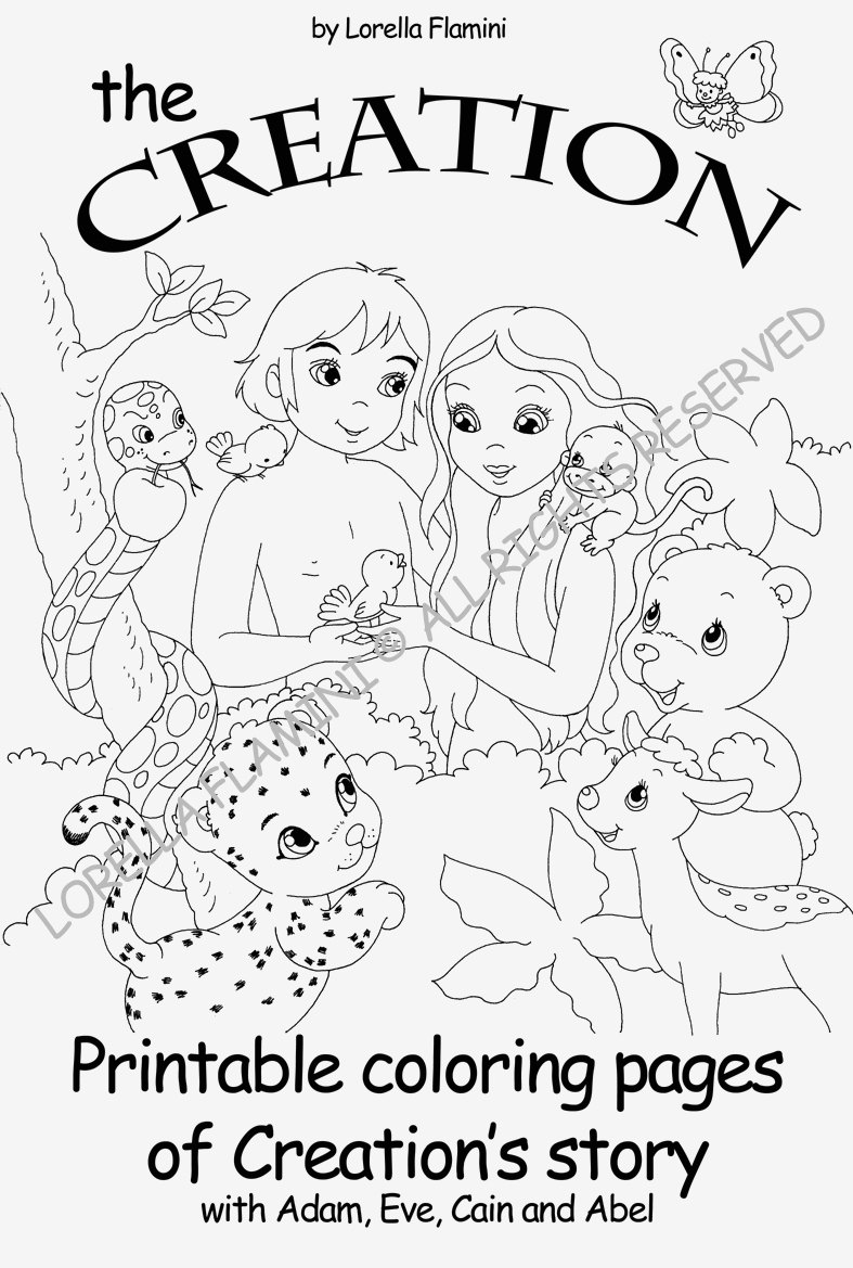 printable coloring pages creation story Collection-Creation Coloring Pages Printable God Created the World Coloring Pages 9-b
