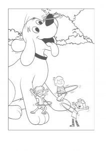 Printable Coloring Pages Creation Story - Coloring Pages Clifford the Big Red Dog to Like or Share 14e