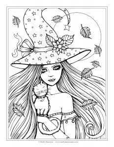 Printable Coloring Pages for Teens - Cool Coloring Page Unique Witch Pages New Crayola 0d Best Cat Free S 16a